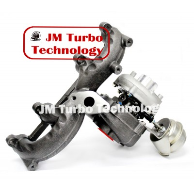 VW Beetle Golf Jetta TDI 1.9L Diesel Turbocharger with Exhaust Manifold